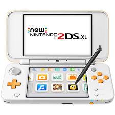 New Nintendo 2DS XL (White + Orange) - REFURBISHED BY NINTENDO - Warranty Inclu
