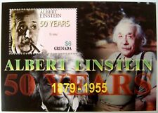 2005 GRENADA ALBERT EINSTEIN STAMP SOUVENIR SHEET 50 YEARS THEORETICAL PHYSICIST