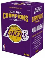 Los Angeles Lakers 2020 NBA Finals Champions Panini 30 Card Team Set
