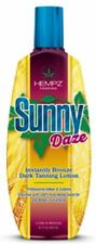 HEMPZ SUNNY DAZE Instantly Bronze Dark Tanning Lotion 8.5 oz Indoor & Outdoor