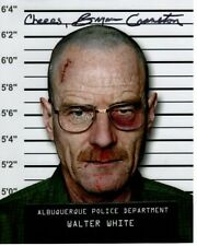 BRYAN CRANSTON Signed BREAKING BAD WALTER WHITE Photo w/ Hologram COA