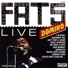 Fats Domino Live (#laserlight15071) [CD]