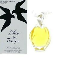 TESTER Women L'AIR DU TEMPS BY NINA RICCI 3.4 /3.3 OZ EDP SPRAY NEW IN BOX