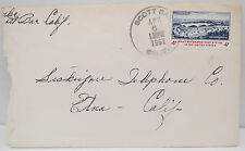 COVER US-First automates Post Office-America posta ordinaria (Lot a3158)