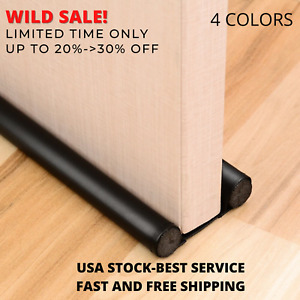 Door Draft Stopper Weather Stripping Save Energy Prevent Bugs Dust Noise