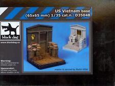 Blackdog Models 1/35 U.S. VIETNAM BASE Resin Display Base