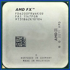 AMD FX-6200 FD6200FRW6KGU 3.8GHz Socket AM3+ 6-Core 8M Processor CPU Bulldozer