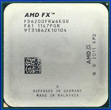 AMD FX-6200 FD6200FRW6KGU 3.8GHz Socket AM3+ 6-Core 8M Processor CPU Bulldozer
