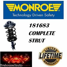 Monroe 181683 Front Complete Strut Assembly AMERICAN MADE LIFETIME WARRANTY