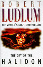 The Cry of the Halidon by Robert Ludlum HARDBACK - FREE FAST DELIVERY