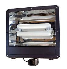 Induction Replaces 200W LED Shoe Box Parking Lot Light Fixture Flood Light Court