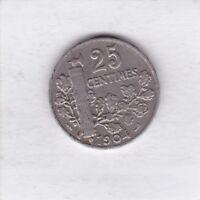 25 centimes Frankreich 1904 Freiheit Liberty France
