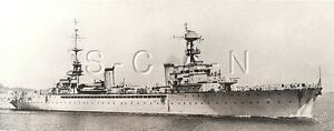 WWII US Large Press Photo- French Navy- Minelayer Pluton- Casablanca Morocco- 39