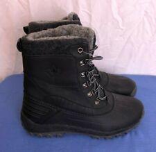Mens Snow Boots Black Sz 9 M