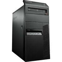 Lenovo ThinkCentre M93P MT Desktop PC, i5-4570 3.2GHz 8GB RAM 256GB SSD Win-10