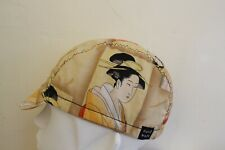 CYCLING CAP JAPANESE CULTURE 100% HANDMADE IN USA   S M L
