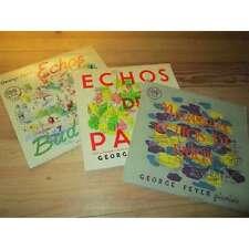 "George feyer lot of 3 discs 25 cm/10"" echos of paris, from Bucharest pathe vox"