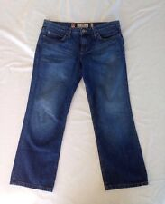 Vintage Juicy Couture Jeans Cropped Pants Sz 30 Made In The Glamorous U.S.A.