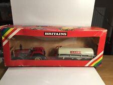 Britains Farm 9605 2680 Massey Ferguson & Vacuum Tanker In Original Box 1983