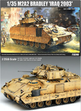 ACADEMY #13205 1/35 Plastic Model Kit M2A2 Bradley Iraq 2003 Tank OIF