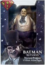 "PENGUIN (MAYORAL OUTFIT) Batman Returns 1/4 Scale 16"" inch Figure Neca 2017"