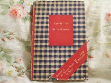 Specialites de la Maison- American Friends of France (1949)