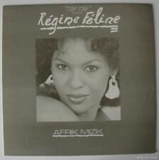 """REGINE FELINE - Afrik Mizik - 12"""" Single - Afro - Zouk - Folk - Gabon - France"""