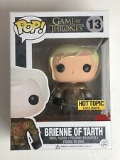 Brienne of Tarth CUSTOM Bloody Funko Pop Hot Topic Exclusive Game of Thrones