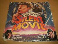 """MEL BROOKS IN SILENT MOVIE """" THE SILENT MOVIE MARCH """" 7"""" RARE PROMO L NEWMAN"""