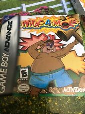 Whack-A-Mole (Nintendo Gameboy Advance)New Factory Sealed CIB