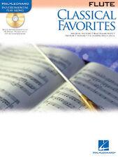 Querflöte Noten : Classical Favorites mit CD KLASSIK Stücke  leichte Mittelstufe