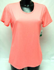WEATHERPROOF 32 Degrees COOL color corallo Neon T-shirt XL Quick Dry Sport Corsa Top