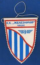 KK ŽELEZNIČAR ČAČAK,Yugoslavia Basketball League of Serbia, vintage flag !