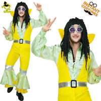 Men's Hippie Costume Adult Halloween Fancy Dress