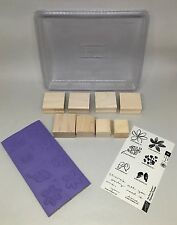 NEW Stampin' Up! Painted Posies Stamp Set Flower Blossoms Two Step Stamping New