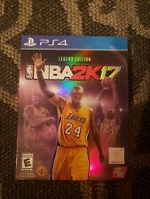 Kobe Bryant's NBA 2K17: Legend Edition For PlayStation 4 Brand New, Sealed.