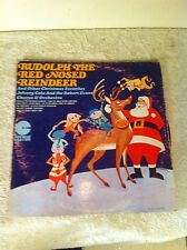 LP Album Vinyl Record Original Johnny Cole   Rudolph The Red Nose Raindeer