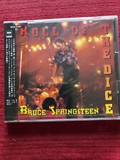 BRUCE SPRINGSTEEN Roll of the Dice JAPAN CD single + 2 Songs, Still Sealed