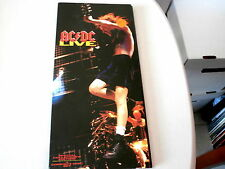 AC DC ~ LIVE~ LONG BOX~ NEAR MINT~ RARE~ 2 CD SET~ ATCO~1992 ~CD
