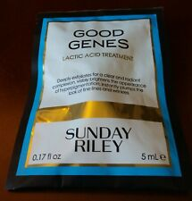 SUNDAY RILEY Good Genes Lactic Acid Treatment Travel Size .17 oz / 5 mL NEW!!