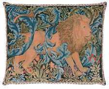William Morris The Forest I Tapestry Cushion - 48 cm x 38 cm Facing Right