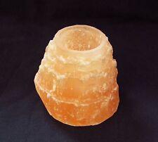 orangene Selenit Pyramide Gips geschliffen schön groß Dekoration Deko dekorativ