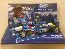 1/43 MINICHAMPS BENETTON B197 G BERGER WINNER GERMAN GP 1997 with FIGURE