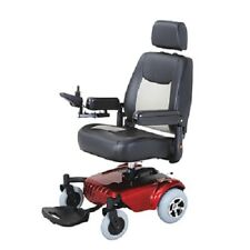 Merits Junior Compact Power Chair With Full Size Captains Seat