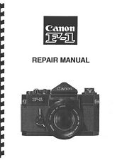 Canon F-1, First Model Service and Repair Manual