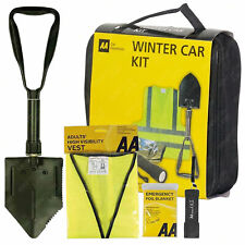 AA Winter Emergency Travel Kit Car Driving Travel Kit Snow Shovel Torch Hi Vis