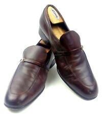 0fed61a4da9 Bally Mens Brown Leather Loafers Laveno Size 10.5 D Switzerland Casual  Everyday