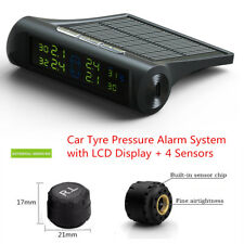 TPMS Wireless Car Tire Tyre Pressure Monitoring System LCD Display + 4 Sensors