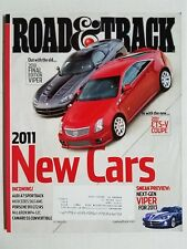 Road & Track Oct 2010 BMW 750i - Lexus LS 460 - Ford Shelby GT-500  HKS GT-R R35