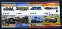 Tuvalu MiNr. 326-33 postfrisch MNH Eisenbahn (Eis545